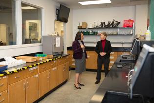 American Chemical Society President visits Appalachian