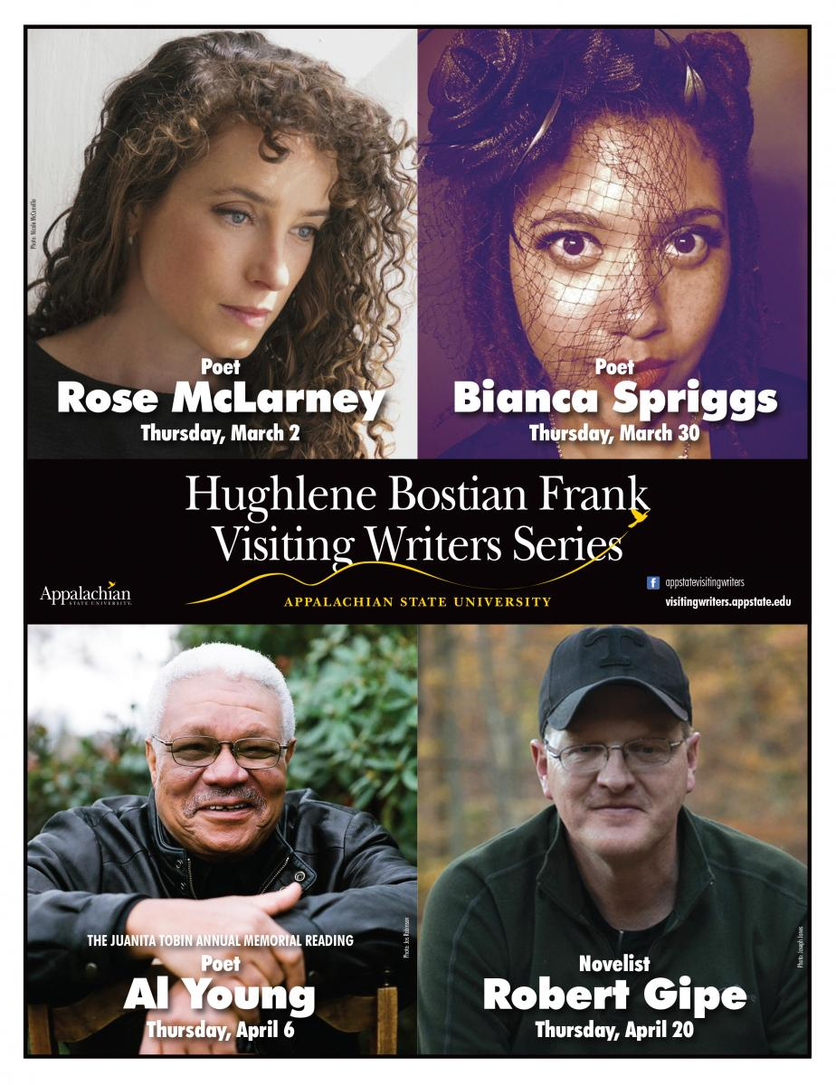Visiting Writers Series Spring 2017