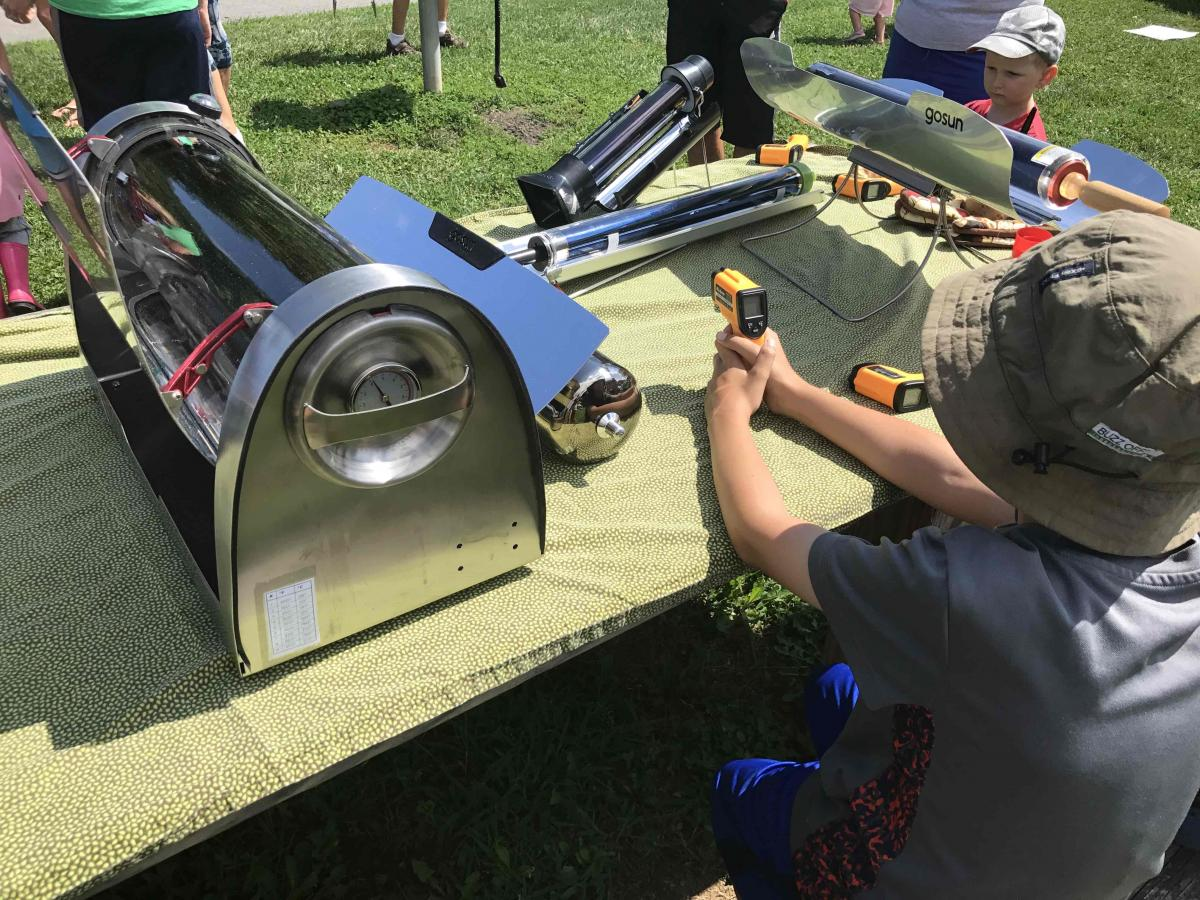 Solar Cooking 2