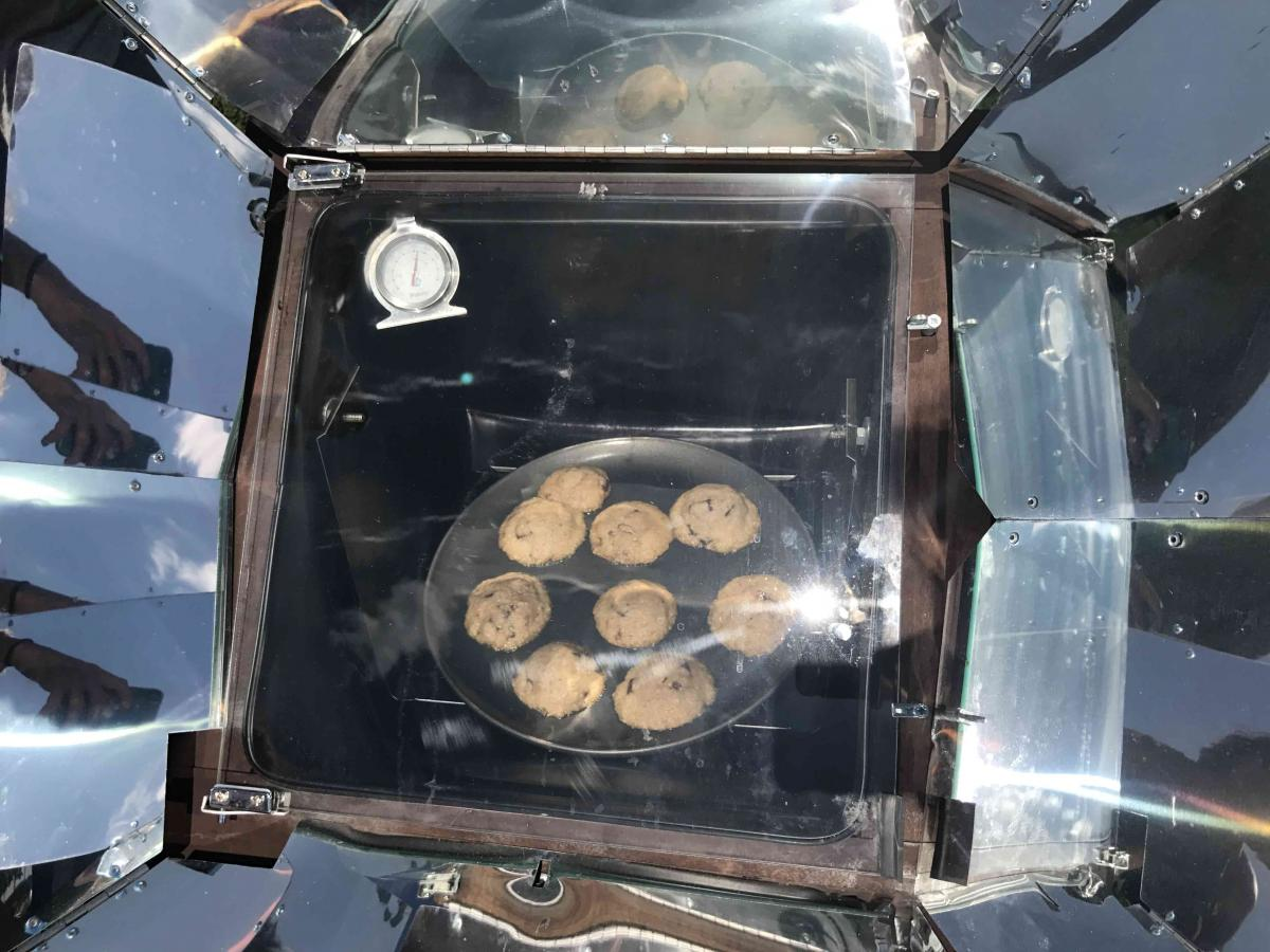 Solar Cooking 3