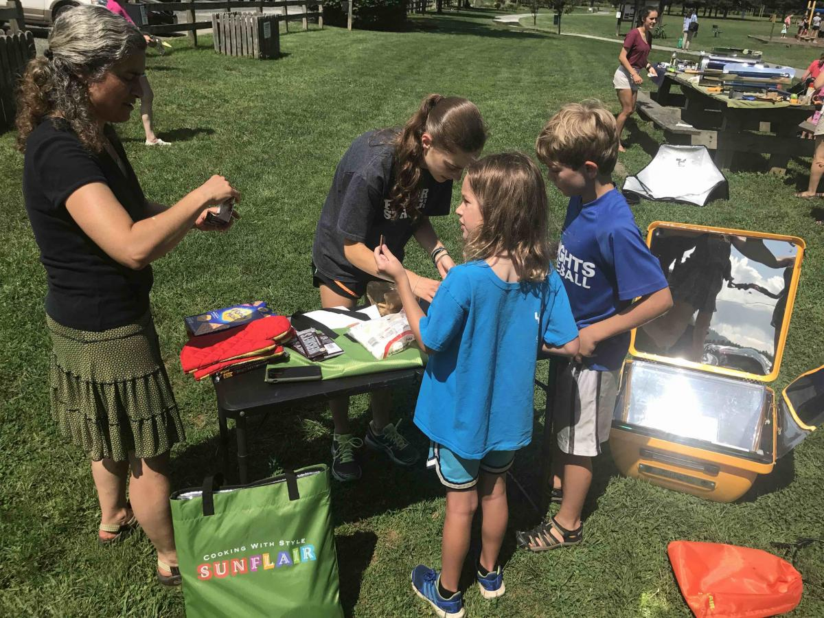 Solar Cooking 4