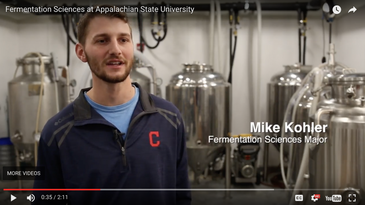 Fermentation Sciences Education in Action at Appstate