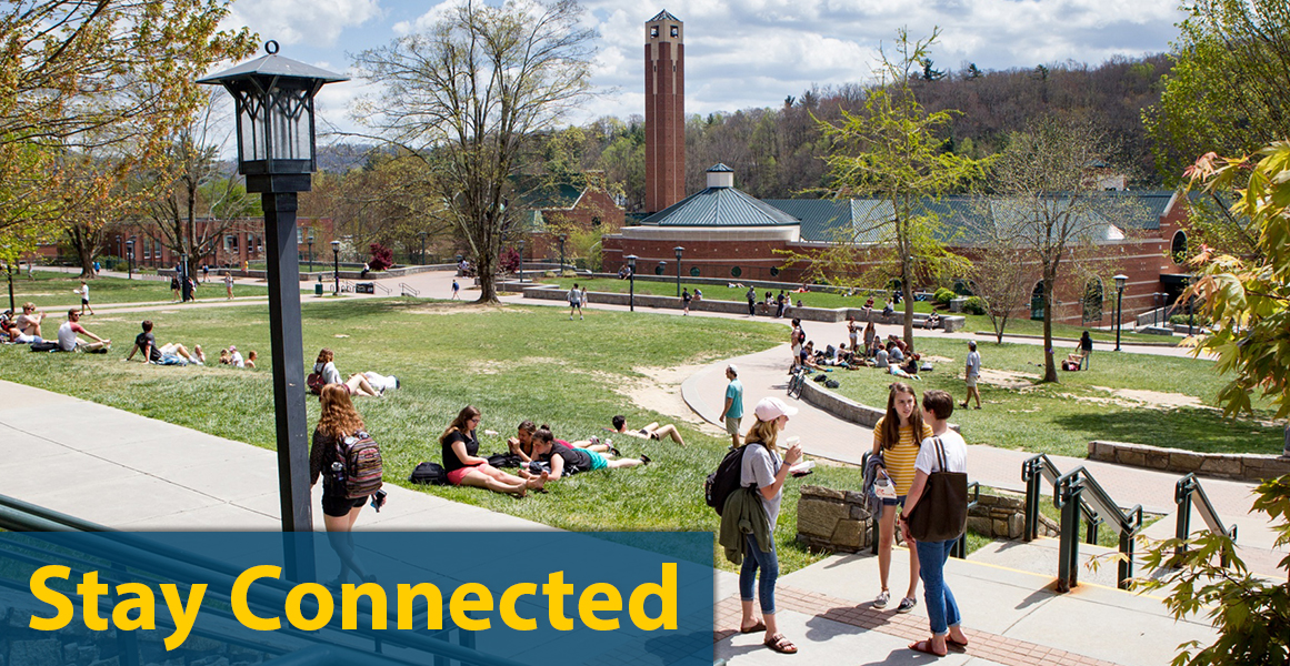 stay connected with cas, appstate