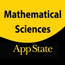 Mathematical Sciences social media mark