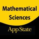Mathematical Sciences social media mark