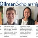 Gilman Scholarships student head shots