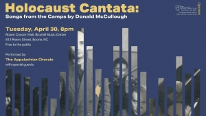 Holocaust Cantata flyer