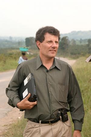 Pulitzer Prize-Winning New York Times Columnist, Nicholas Kristof
