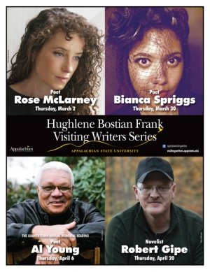 Hughlene Bostian Frank Visiting Writers Series Spring 2017
