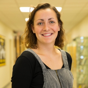 Senior Biology major Alyssa Phillips: CAS Corps Feature of the Month