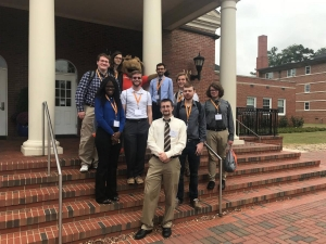 Ten Computer Science students from Appalachian presented at SNCURS 2017