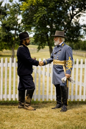 Curt Fields as General U.S. Grant