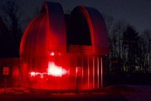 Appalachian State Dark Sky Observatory on the Blue Ridge Parkway