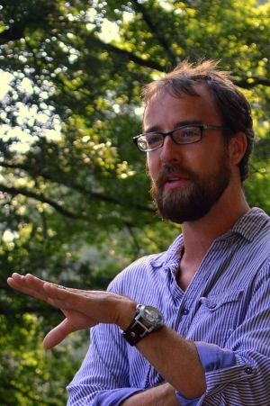 """Dr. Zach Vernon, assistant professor in Appalachian's Department of English, is co-editor of """"Summoning the Dead: Essays on Ron Rash,"""" a book-length collection of scholarship on award-winning author Ron Rash. Photos submitted"""