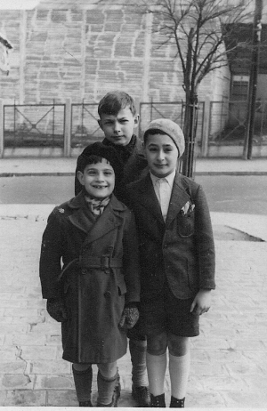 "Holocaust survivor Ralph Preiss appears in this January 1939 photograph taken in Paris. He will speak during the 16th Annual Summer Symposium ""Remembering the Holocaust"" Aug. 5-10."