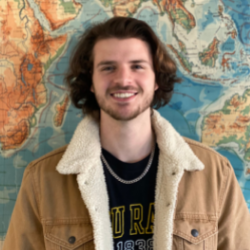 Nicholas Gastelle, graduate student researcher from the Department of Geography and Planning. Photo submitted.