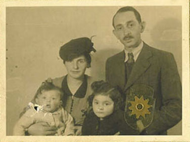 A picture of Klein Kassenoff and her family. Photo provided