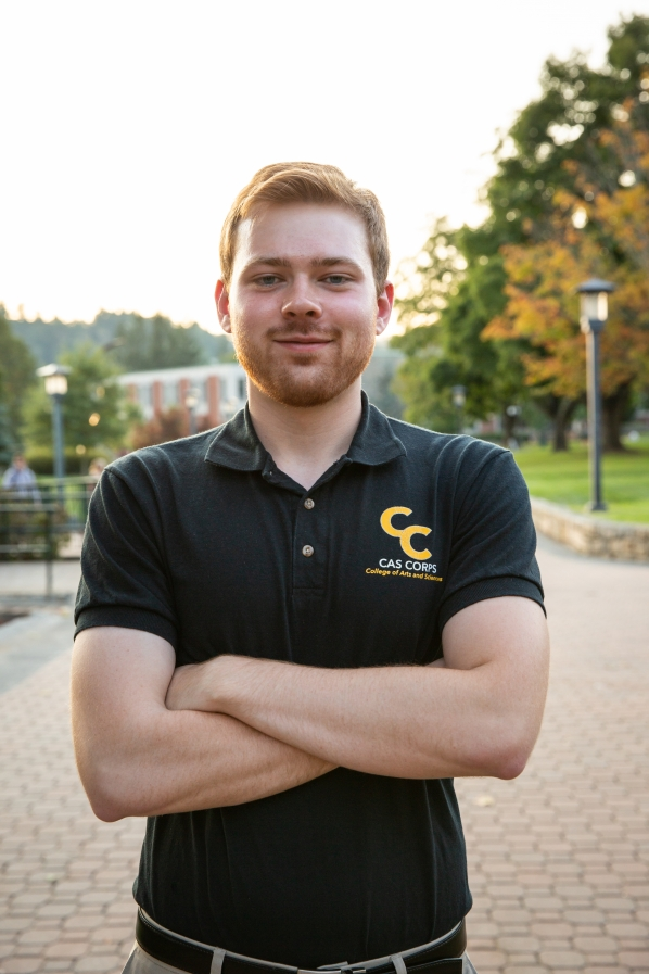 Senior Computer Science Major Preston Wilson. Photo by Ellen Gwin Burnette