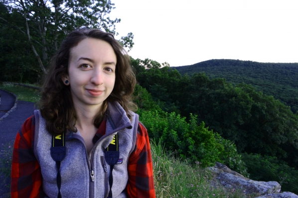 Alumna, Caroline Noel '13, B.A. in Anthropology and a B.A. in English.