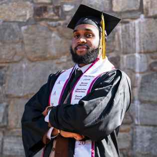 Caption: SAFE student recipient Charles Fennell, Psychology. Photo submitted.