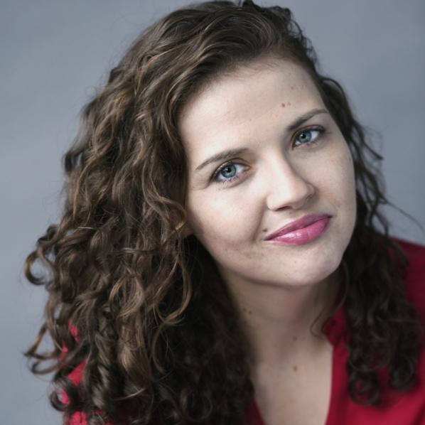Novelist Kayla Rae Whitaker. Photo by Mark-Bennington