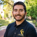Andy Mendoza, Cell/Molecular Biology major, Chemistry minor. Photo by Ellen Gwin Burnette
