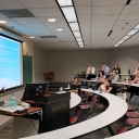 IOHRM students had the opportunity to present their internship experiences over the summer to the faculty and the 1st years students.