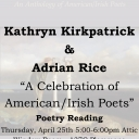 A Celebration of Irish/American Poets flyer photo