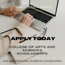 Apply today for College of Arts and Sciences scholarships