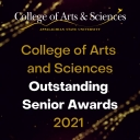 College of Arts and Sciences Outstanding Senior Awards graphic.