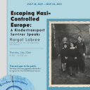 """Flyer for the """"Escaping Nazi-Controlled Europe"""" event. Graphic submitted."""
