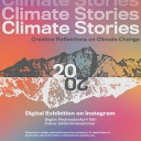 2020 Climate Stories Showcase: Digital Exhibition on Instagram graphic.