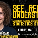 See. Repeat. Understand? Lessons In Teaching Statistical Computing With Dr. Victoria Woodard