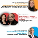"""Poster about speakers for this event """"People, Politics and Representation"""""""