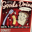 """In honor of their 50th anniversaries, the College of Arts and Sciences, College of Fine and Applied Arts and Reich College of Education at Appalachian State University will host a goods drive focused on the """"3 P's"""" — personal care items, pasta, and peanut butter and jelly/jams — for Appalachian's campus food pantry and free store, located in the Office of Sustainability."""