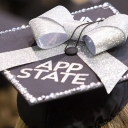 Appstate Graduation Cap Photo by Marie Freeman