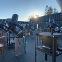 An image of the GoTo laboratory on the roof of Rankin Science at Appalachian State University. Photo by Dan Caton.
