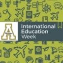 graphic depicting international travel and Appalachian State University logo