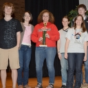 Previous winners of the NCCTM State High School Mathematics Contest include this team of students from Avery High School, who won second place in the 2013 regional held at Appalachian State University. Photo submitted