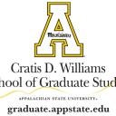 Titlemark and block A representing the Cratis D. Williams School of Gradate Studies.