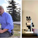 Images of the two faculty recipients of the Office of Student Research's 2020 Undergraduate Research Mentorship Excellence Award