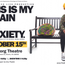 This is My Brain on Anxiety event poster. Graphic submitted.
