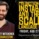 Dr. W. Garrett Mitchener speaker graphic
