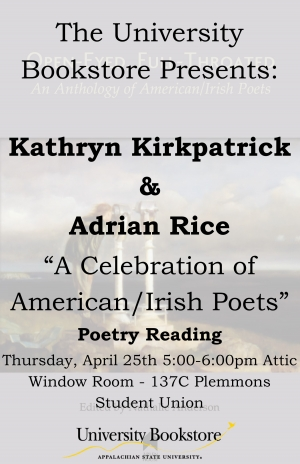 A Celebration of Irish/American Poets flyer photo