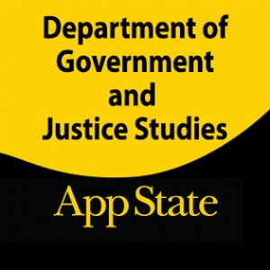 Graphic for Department of Government and Justice Studies