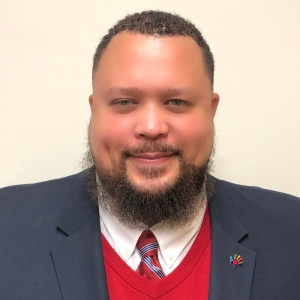 Appalachian State University's College of Arts and Sciences 2019-20 Outstanding Alumni award winner Carlton Paylor '96, current Director of Person County Department of Social Services. Photo submitted.