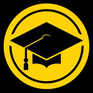 Graduation cap graphic