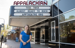 Caroline Davis '16 '19 interned with the Appalachian Theatre of the High Country while completing her Master in Public Administration degree at Appalachian. She now works at Western Youth Network in Boone. Photo submitted