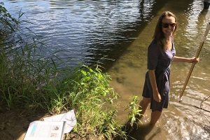 Dr. Sarah Evans, hydrogeologist and assistant professor in Appalachian's Department of Geological and Environmental Sciences. Photo submitted