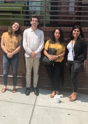 Amber Gregory, Ian Foley, Alissa Ellis, and Felicia Arriaga